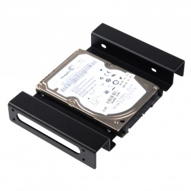Orico Aluminium 5.25 Inch to 2.5 / 3.5 Inch HDD Caddy - AC52535-1S - Black - 4