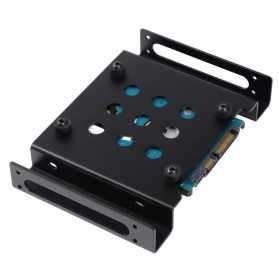 Orico Aluminium 5.25 Inch to 2.5 / 3.5 Inch HDD Caddy - AC52535-1S - Black - 6