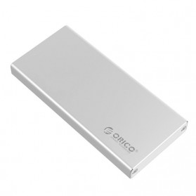 Orico mSATA to USB 3.0 Type C SSD Enclosure Adapter Case - MSA-UC3 - Silver