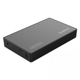 Orico 1-Bay 3.5 SATA USB Type C HDD Enclosure - 3588C3 - Black - 1