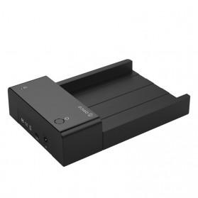 Orico 2.5/3.5 Inch Horizontal Mobile Hard Disk Seat USB Type C - 6518C3 - Black