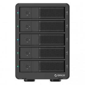 Orico 5-Bay 3.5 SATA HDD Enclosure - 9558U3-V1 - Black - 5