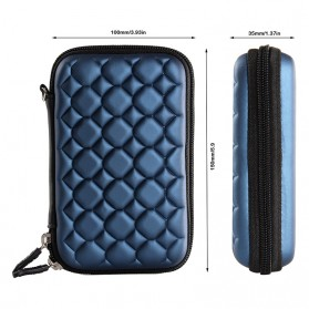 Orico 2.5 Inch HDD Protection Case Bag - PHC-25 - Blue - 4