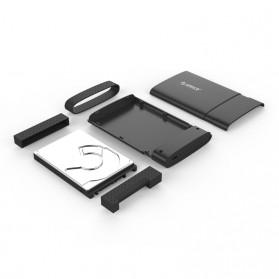 Orico 2.5 Inch External HDD Enclosure USB 3.0 Type-C - 2538C3 - Black - 2