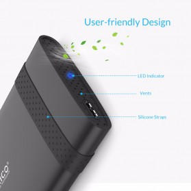 Orico 2.5 Inch External HDD Enclosure USB 3.0 - 2538U3 - Black - 2