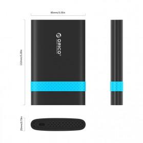 Orico 2.5 Inch External HDD Enclosure USB 3.0 - 2538U3 - Black - 3
