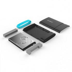 Orico 2.5 Inch External HDD Enclosure USB 3.0 - 2538U3 - Black - 4