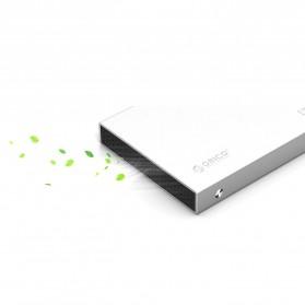 Orico 2.5 HDD Enclosure USB 3.0 - 2518S3 - Silver - 6