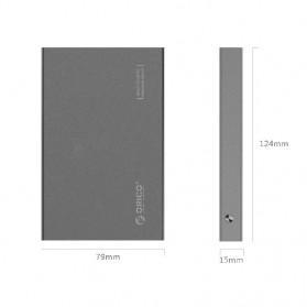 Orico 2.5 HDD Enclosure USB 3.0 - 2518S3 - Gray - 8