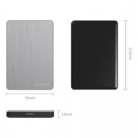 ORICO 2.5 inch USB 3.0 HDD Enclosure - MD25U3 - Dark Gray - 4