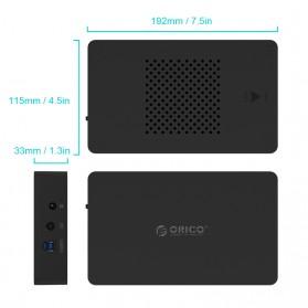 Orico 3.5 Inch HDD Enclosure - 3569S3 - Black - 5