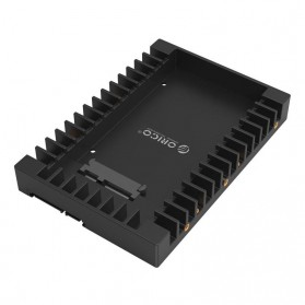 Orico 2.5 to 3.5 Inch Hard Drive Caddy - 1125SS - Black - 1
