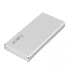 Orico mSATA to USB 3.0 Micro B SSD Enclosure Adapter Case - MSA-U3 - Silver - 2