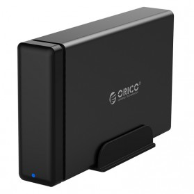 Orico Tempat Penyimpanan HDD Enclosure - NS100U3 - Black