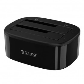 Orico HDD Docking 2 Bay USB 3.0 - 6228US3 - Black