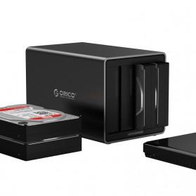Orico Docking HDD 3.5 Inch 4 Bay USB Type C with Raid Function - NS400RC3 - Black - 2