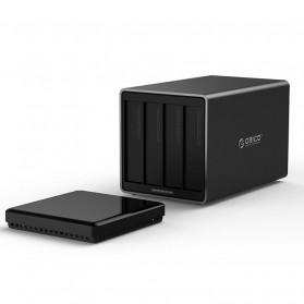 Orico Docking HDD 3.5 Inch 4 Bay USB Type C with Raid Function - NS400RC3 - Black - 3