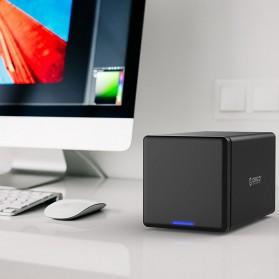 Orico Docking HDD 3.5 Inch 4 Bay USB Type C with Raid Function - NS400RC3 - Black - 7