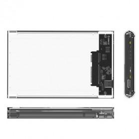 Orico Hard Drive Enclosure 2.5 Inch USB 3.1 Type C - 2139C3 - Transparent - 2