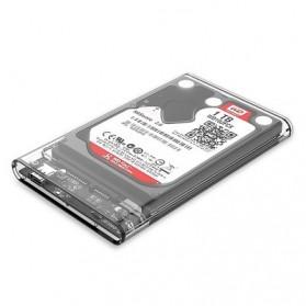 Orico Hard Drive Enclosure 2.5 Inch USB 3.1 Type C - 2139C3 - Transparent - 3