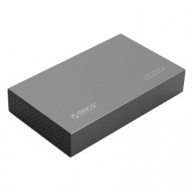Orico 3.5 HDD Enclosure USB 3.0 - 3518S3 - Gray - 1