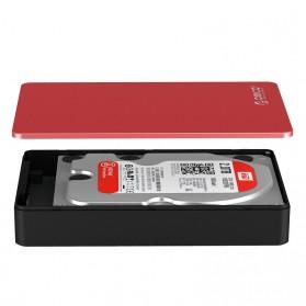 Orico 3.5 HDD Enclosure USB 3.0 - MD35U3 - Silver - 2
