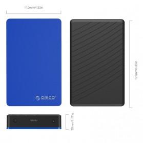 Orico 3.5 HDD Enclosure USB 3.0 - MD35U3 - Silver - 6