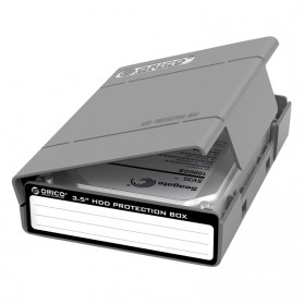 Orico 1-Bay 3.5 HDD Protection Case 5 PCS - PHP-5S - Gray - 2