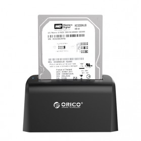 Orico SuperSpeed HDD SSD Docking Station 2.5/3.5 Inch USB3.0 - 6519US3 - Black - 2