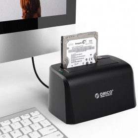 Orico SuperSpeed HDD SSD Docking Station 2.5/3.5 Inch USB3.0 - 6519US3 - Black - 3