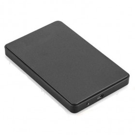 Casing Harddisk 1-Bay 2.5 HDD Enclosure USB 2.0 with HDD 1TB - Black
