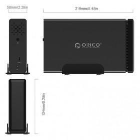 Orico Docking HDD 3.5 Inch 1 Bay USB Type C - NS100C3 - Black - 6