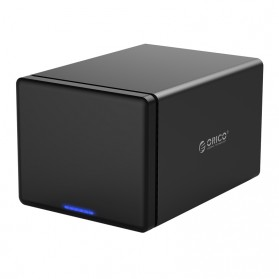 Orico Docking HDD 3.5 Inch 5 Bay USB 3.0 with Raid Function - NS500RU3 - Black