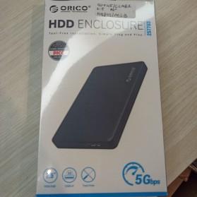 Orico HDD Enclosure 2.5 inch USB 3.0 - 2577U3 - Black - 6