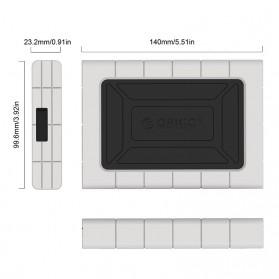 Orico Three-proofing HDD Enclosure 2.5 inch USB Type C  - 2539C3 - Black - 4