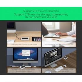 Orico Three-proofing HDD Enclosure 2.5 inch USB Type C  - 2539C3 - Black - 6
