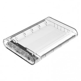 Orico Hard Drive Enclosure 3.5 inch USB 3.0 - 3139U3 - Transparent