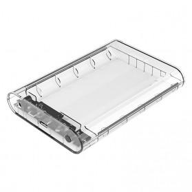 Orico Hard Drive Enclosure 3.5 inch USB 3.0 - 3139U3 - Transparent - 1