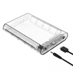 Orico Hard Drive Enclosure 3.5 inch USB 3.0 - 3139U3 - Transparent - 5
