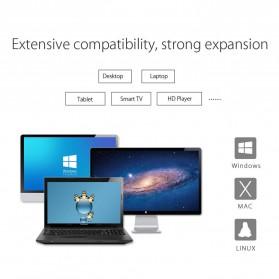 Orico Hard Drive Enclosure 3.5 inch USB 3.0 - 3139U3 - Transparent - 10
