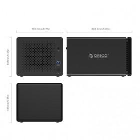 Orico Docking HDD 3.5 Inch 5 Bay USB 3.0 - NS500U3 - Black - 3