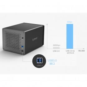 Orico Docking HDD 3.5 Inch 5 Bay USB 3.0 - NS500U3 - Black - 6