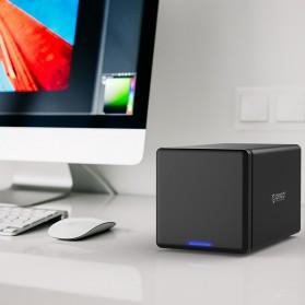 Orico Docking HDD 3.5 Inch 4 Bay USB 3.0 - NS400U3 - Black - 4