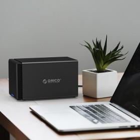 Orico Docking HDD 3.5 Inch 4 Bay USB 3.0 - NS400U3 - Black - 5