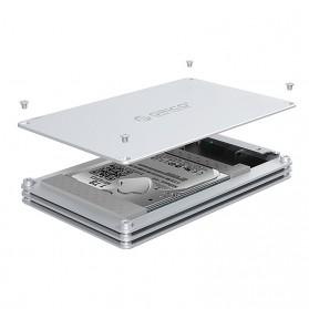Orico HDD Enclosure 2.5 inch 1 Bay USB 3.0 - DY251U3 - Silver - 4