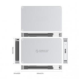 Orico HDD Enclosure 2.5 inch 1 Bay USB 3.0 - DY251U3 - Silver - 5