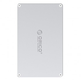 Orico HDD Enclosure 2.5 inch 2 Bay USB 3.0 - DY252U3 - Silver - 1