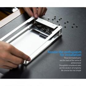 Orico HDD Enclosure 2.5 inch 2 Bay USB 3.0 - DY252U3 - Silver - 7