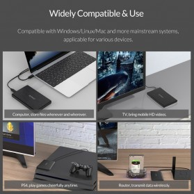 ORICO 2.5 inch USB Type C 3.1 HDD Enclosure - 2578C3-G2 - Black - 4