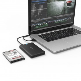 ORICO 2.5 inch USB Type C 3.1 HDD Enclosure - 2578C3-G2 - Black - 6